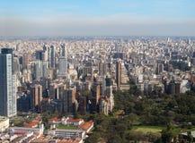Panorama de Buenos Aires, la Argentina Fotografía de archivo libre de regalías