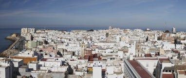 Panorama de Cadiz Imagens de Stock Royalty Free