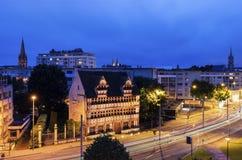 Panorama de Caen Imágenes de archivo libres de regalías
