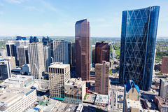 Panorama de Calgary Photo stock