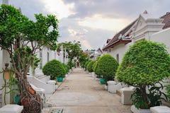 Panorama de calles y de casas en Bangkok, Tailandia Fotos de archivo