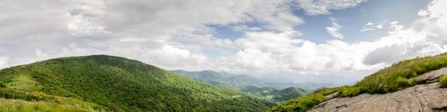 Panorama de calvo redondo de Jane Bald Rock foto de stock