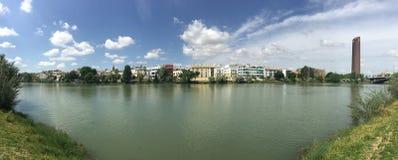 Panorama de Canal de Alfonso XIII photo libre de droits