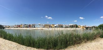 Panorama de Canal de Alfonso XIII image libre de droits