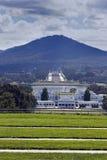 Panorama de Canberra fotografía de archivo