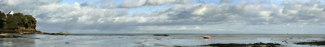 Panorama de Cancale imagem de stock royalty free