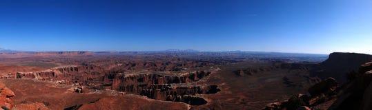 Panorama de Canyonlands Fotos de archivo libres de regalías