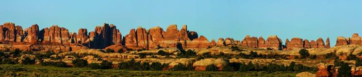 Panorama de Canyonlands Photographie stock