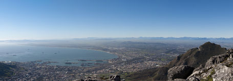 Panorama de Cape Town Imagens de Stock