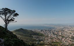 Panorama de Cape Town foto de stock