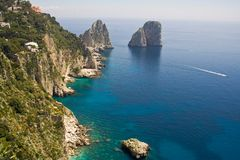 Panorama de Capri image stock