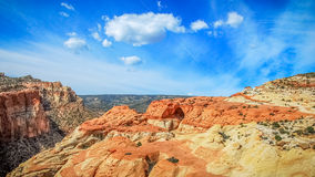 Panorama de Cassidy Arch photographie stock