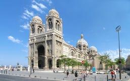 Panorama de cathédrale de Marseille Image libre de droits