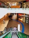 panorama de centre commercial à Vilnius photo libre de droits