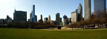 Panorama de Chicago Photographie stock