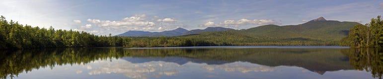 Panorama de Chocorua de lac Photographie stock libre de droits