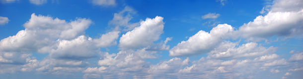 Panorama de ciel Photo stock