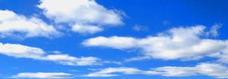 Panorama de ciel Photos stock