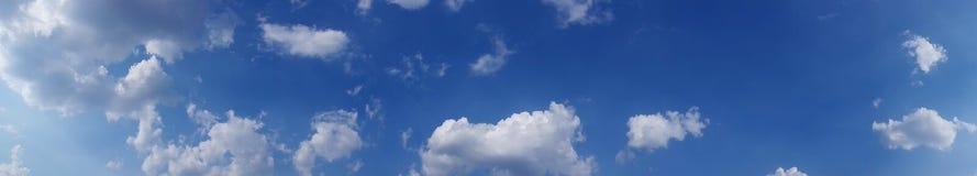 Panorama de ciel, recherche élevée Images libres de droits