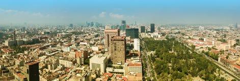 Panorama de Ciudad de México Imagen de archivo