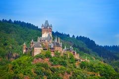 Panorama de Cochem en Allemagne, l'Europe Photographie stock libre de droits