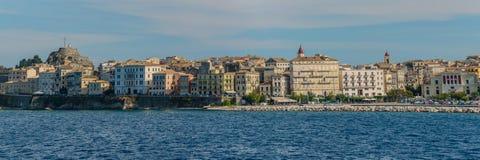 Panorama de Corfu Imagens de Stock Royalty Free