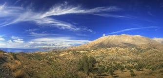 Panorama de Crète Images libres de droits
