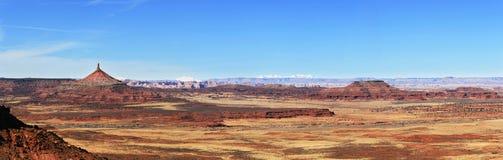 Panorama de désert Photographie stock libre de droits