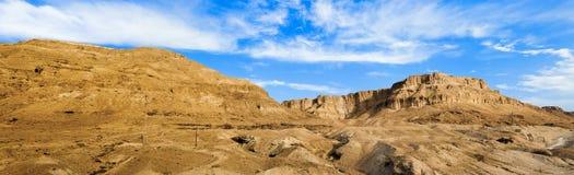 Panorama de désert Image libre de droits