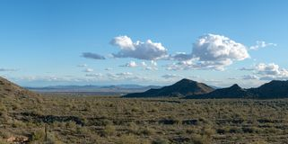 Panorama de désert de l'Arizona image libre de droits