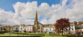 Panorama de Dawlish photographie stock libre de droits
