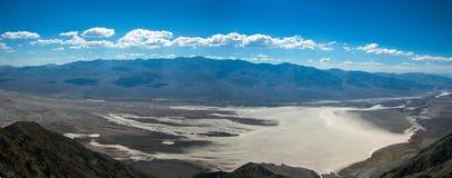 Panorama de Death Valley Fotografía de archivo libre de regalías