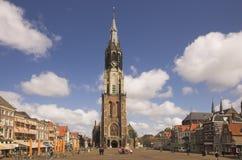 Panorama de Delft Photos libres de droits