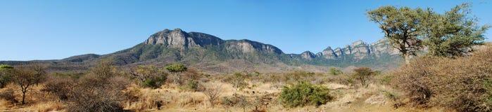 panorama de drakensberg de l'Afrique du sud Photo libre de droits