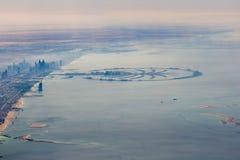 Panorama de Dubaï Photos stock
