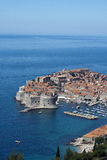 Panorama de Dubrovnik Photographie stock