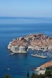 Panorama de Dubrovnik fotografia de stock