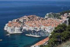 Panorama de Dubrovnik Imágenes de archivo libres de regalías