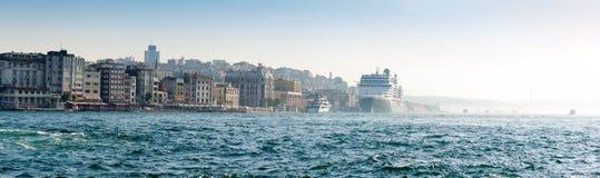 Panorama de Estambul Imagenes de archivo