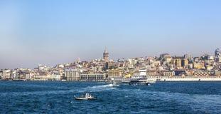 Panorama de Estambul Fotos de archivo libres de regalías