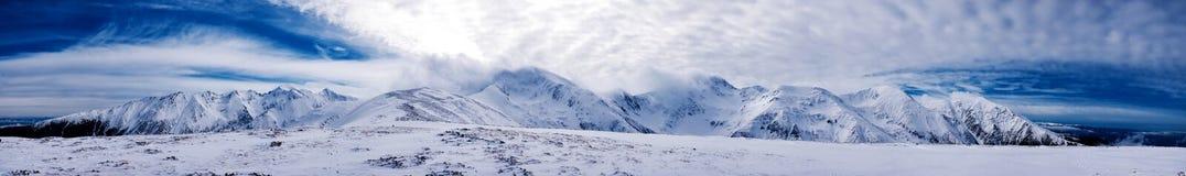 Panorama de Fagaras Image libre de droits