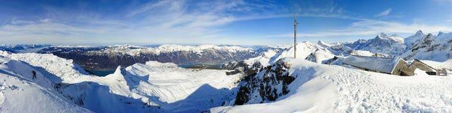 Panorama de Faulhorn foto de stock