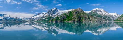 Panorama de fjords de Kenai images libres de droits
