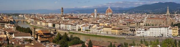 Panorama de Florença Fotografia de Stock Royalty Free