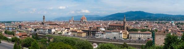 Panorama de Florença, Itália Imagens de Stock