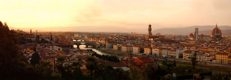 Panorama de Florença, Italy Foto de Stock Royalty Free