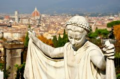 Panorama de Florença, Italy Imagens de Stock Royalty Free