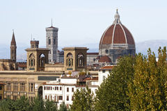 Panorama de Florence Photographie stock libre de droits