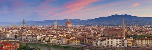 Panorama de Florence Images stock