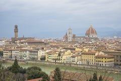Panorama de Florence image libre de droits